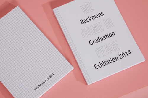 Beckmans Graduation Catalogue 2014