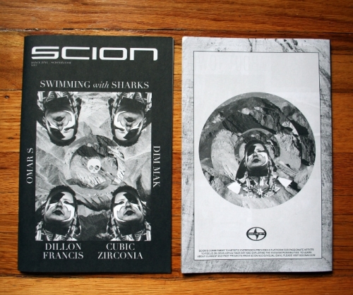 Scion Dance Zine Vol4 Cover