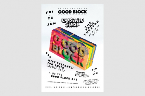 GOOD BLOCK WITH COSMIC SLOP