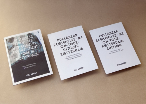 PULL & BEAR  OPENING PARTY CATALOGUE