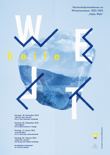 Heile Welt — Poster design
