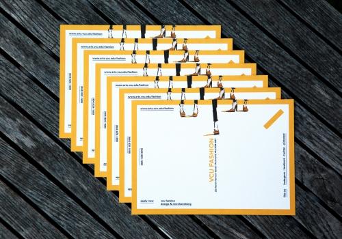 Postcard for VCU Fashion Prospective Students