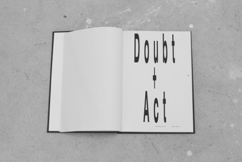 Doubt + Act II