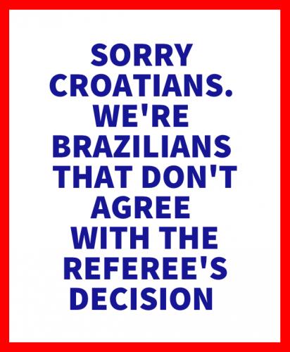 Sorry Croatia