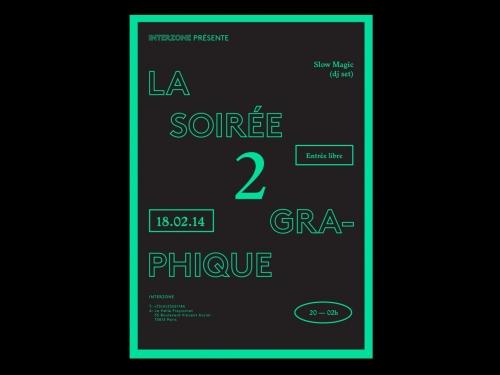 SOIRÉE GRAPHIQUE 2