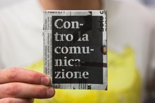 Contro la comunicazione
