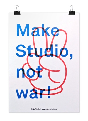 Make Studio, not war!