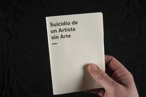 Suicidio de un artista sin arte