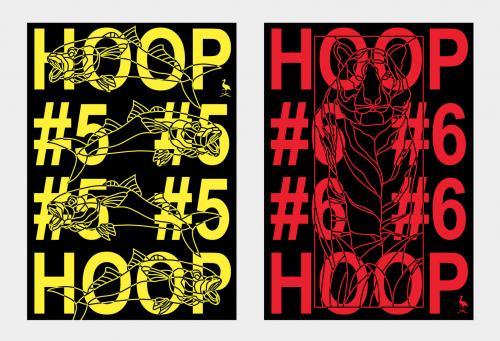 HOOP Clubnacht Posters