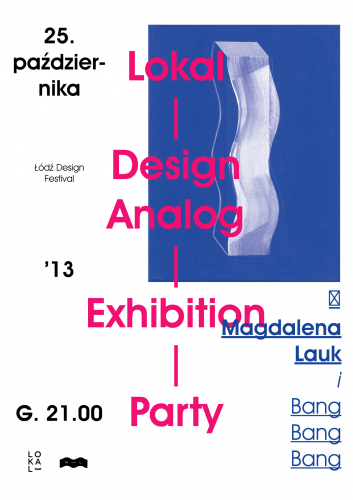 Lokal design — analog party