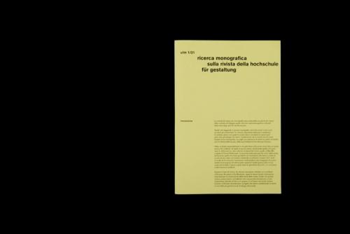 hfg ulm monograph