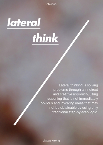 lateral think