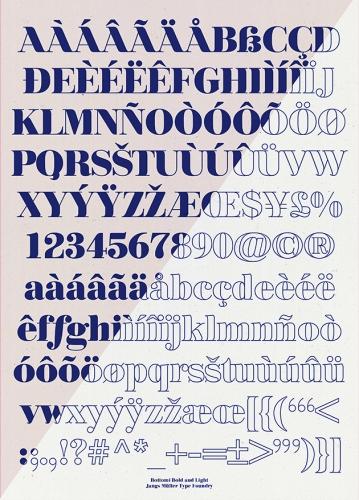 Bottomi Typeface