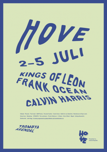 Redesign of Hovefestivalen