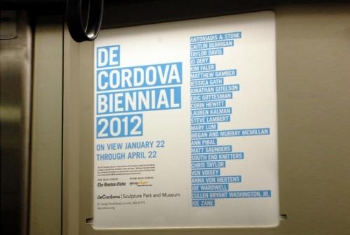 DE CORDOVA BIENNIAL 2012