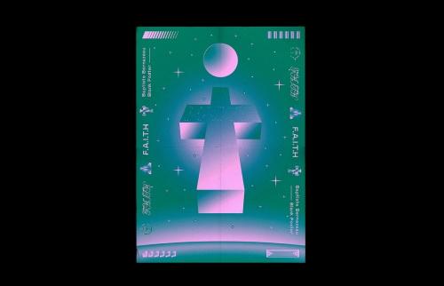 Faith Blank Poster