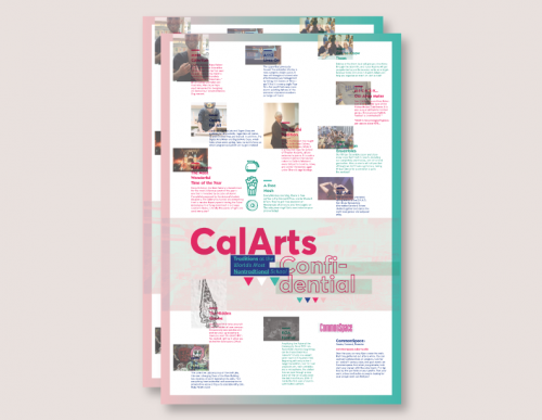 CalArts Confidential Brochure/Poster