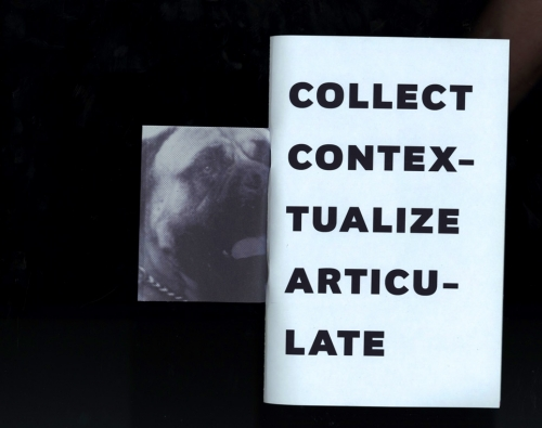 COLLECT CONTEXTUALIZE ARTICULATE