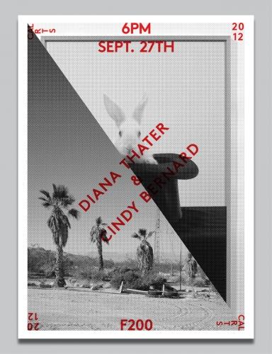 Diana Thater & Cindy Bernard