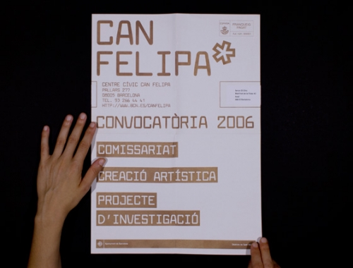Can Felipa Arts Visuals Brochure