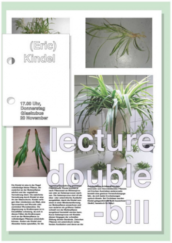 lecture double-bill
