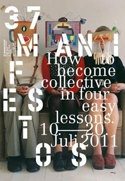 Ausstellung 37 manifestos