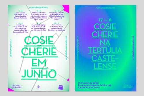 Cosie Cherie flyers