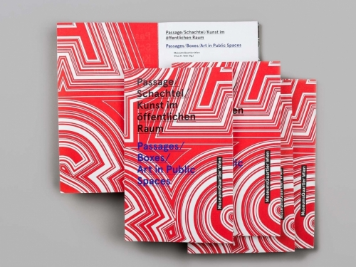 Passage/ Schachtel/ Kunst im öffentlichen Raum