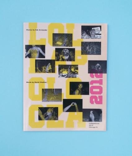 Lollapolooza 2012 book