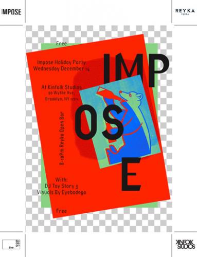 Impose Magazine Holiday Party