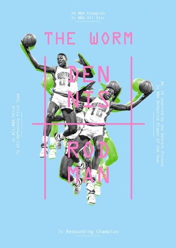 NBA Posters Dennis Rodmann