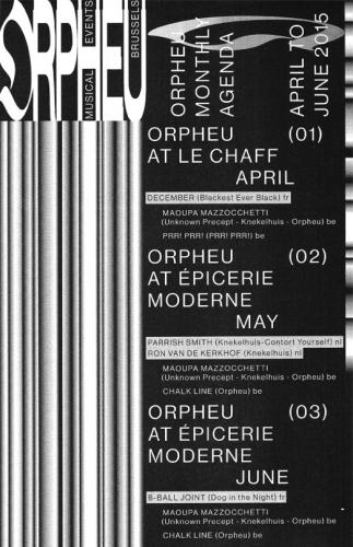 ORPHEU - Monthly Agenda 1