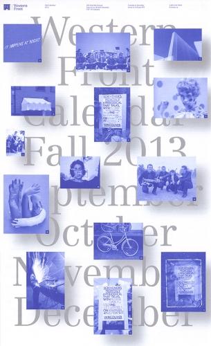 Western Front Fall Calendar 2013