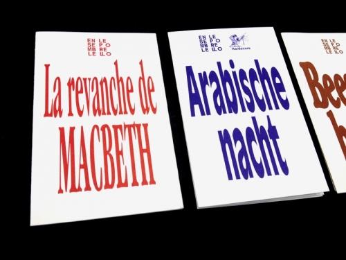Leaflets Ensemble Leporello