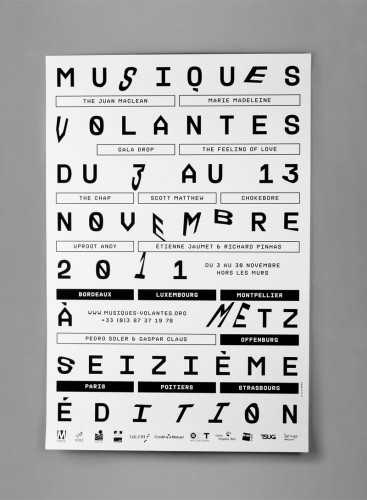 Musiques volantes 16th edition