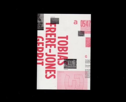 Tobias Frere-Jones, Gerrit Noordzij prize exhibiti
