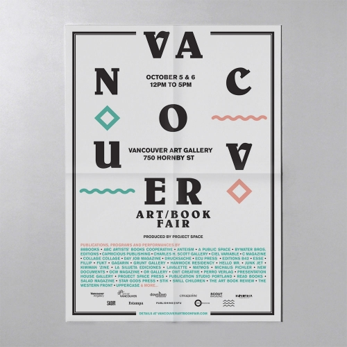 Vancouver Art/Book Fair 2014