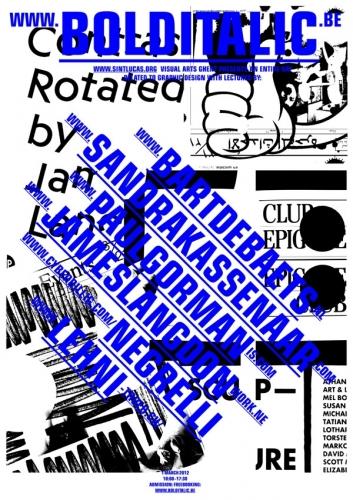 Bold Italic Poster 2012