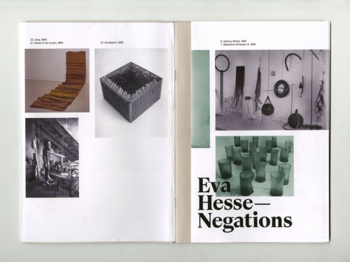 Eva Hesse - Negations
