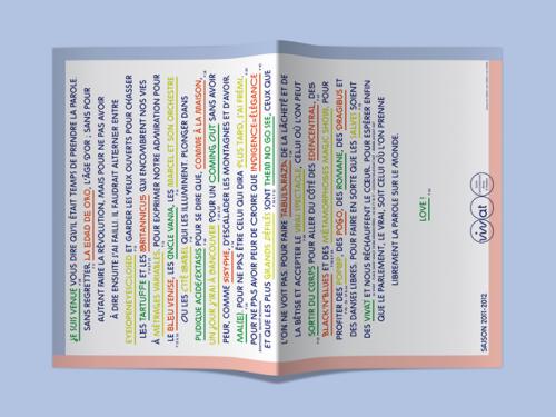 IDENTITÉ DU VIVAT – SAISON 2011-2012