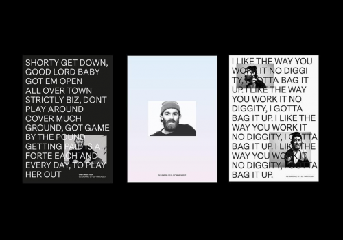 Chet Faker Visual Identity update
