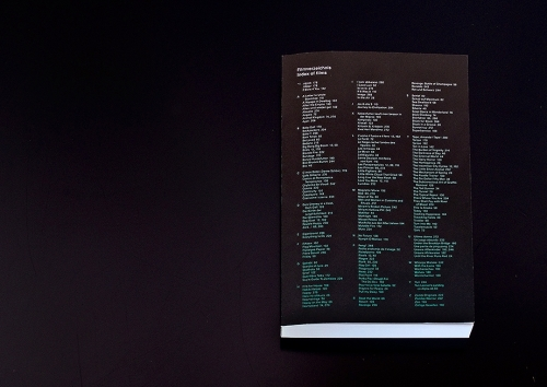 KURZ FILM TAGE / Film Index