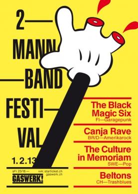 2 MANNBAND FESTIVAL