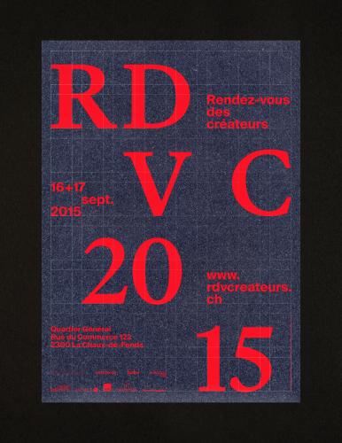 Rendez-vous des créateurs 2015 – poster