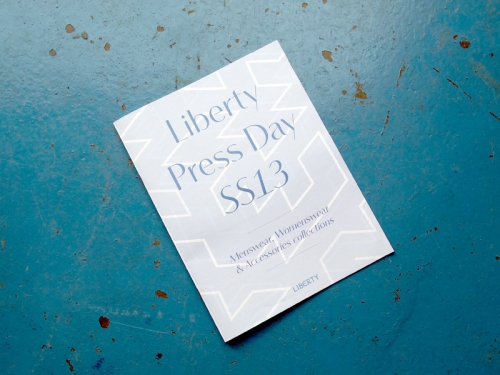 LIBERTY LONDON PRESS DAY
