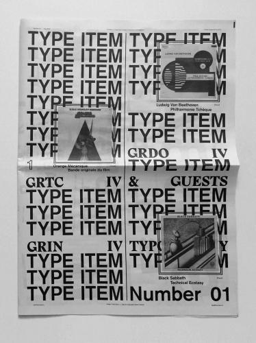 Type Item #1