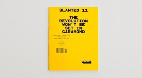 Slanted #11: Monospace