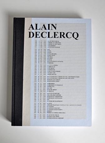 Alain Declercq's monograph