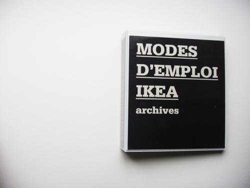 MODES D'EMPLOI IKEA