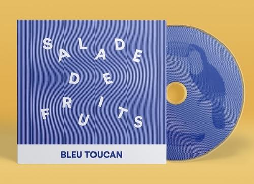 SALADE DE FRUITS Op Art style Cover